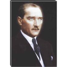 Kanvas Atatürk Tablosu Renkli Atatürk Portresi Atatrap13d