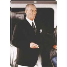 Kanvas Atatürk Tablosu Renkli Atatürk Portresi Atatrap46d