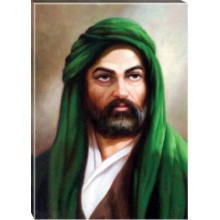 ANI Hz. Ali Tablosu Kanvas Tablo 32x45-50x70-70x100-100x150cm ANITR06HAD
