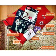Anı Karaca Eşarp Seti Takım Halinde Aniset01esa