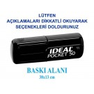 MUG Cep Kaşesi İdeal Pocket 50 MUGKS01CK